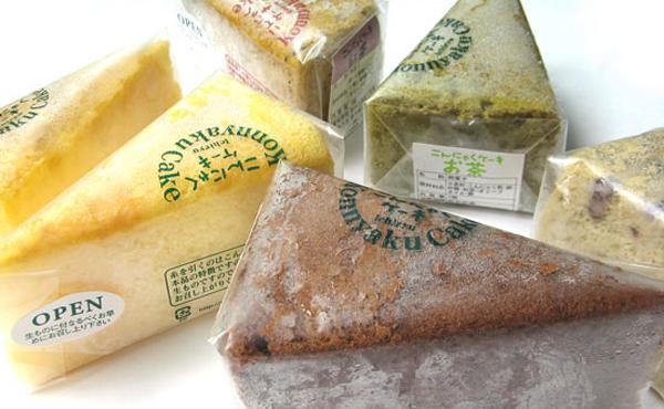 <span>こんにゃくケーキ</span>もち・ふわのシフォンスポンジは無添加で超低カロリーで超おいしい