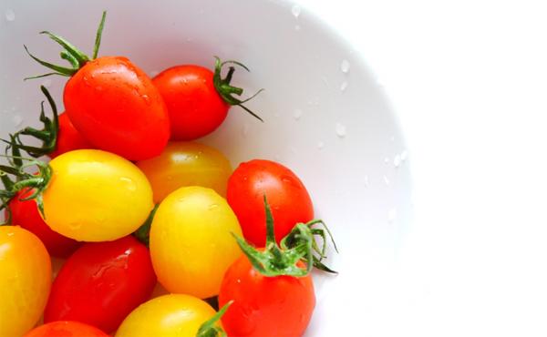 <span>ミニトマト アイコ・レッド《真朱》</span>とても繊細な果肉、緻密なボディ、フルーツ並みの濃密さ