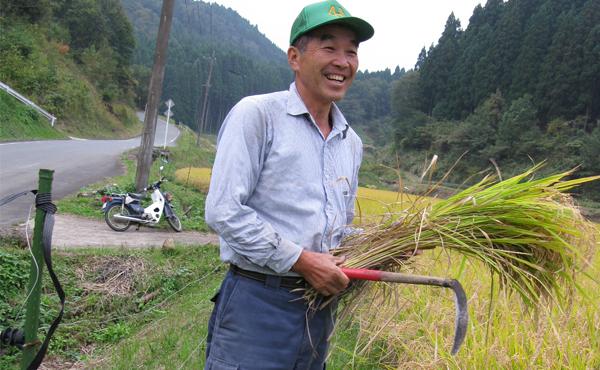 <span>JAS有機認証 土のめぐみ米</span>教科書にも掲載された無農薬栽培歴35年以上の湧水米