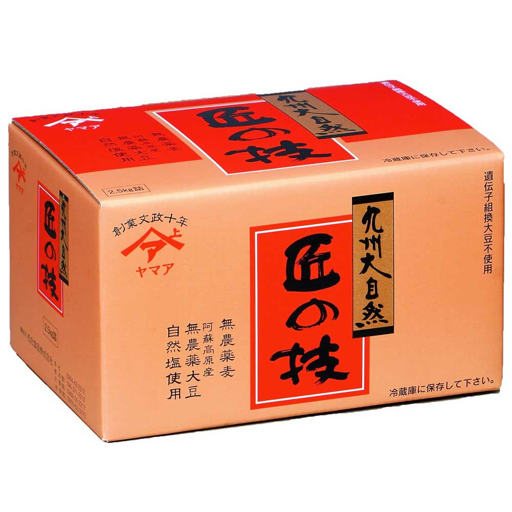 無添加 麦味噌《匠の技》1箱(2.5kg)