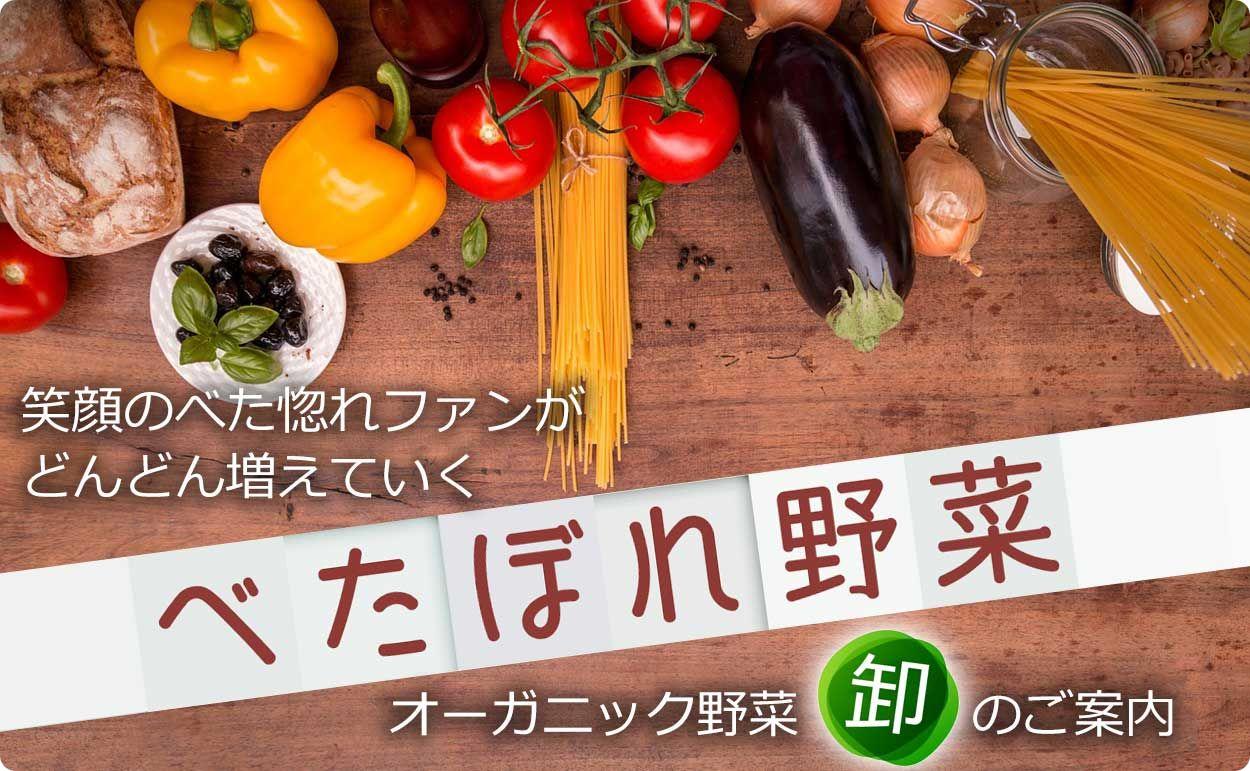 <span>べた惚れ野菜 卸のご案内</span>